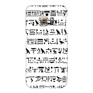 EricHowe Samsung Galaxy S6 Bumper Mobile Cases Provide Private Custom Colorful Egyptian Hieroglyph Image [MSJ26293ryZC]