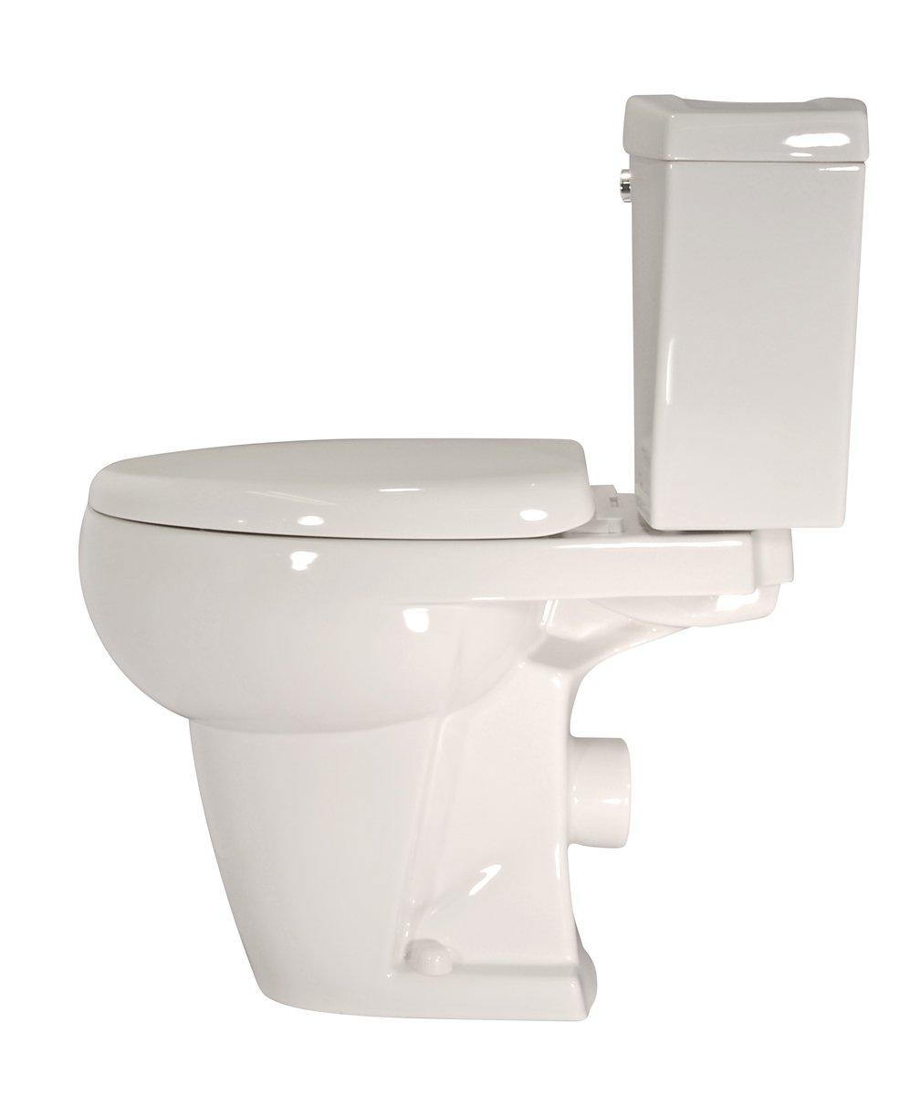 Thetford Bathroom Anywhere Macerating Elongated Toilet Kit 42819 ...