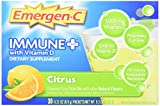Alacer Emergen-C Immune Plus System Support, Citrus, 30 Count For Sale