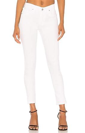 aa13ec0f64a84 Vaquero Mujer Skinny Pantalón Vaquero Slim Jeans Stretch Mujer Skinny Jeans  Elástico Jegging Negro Blanco  Amazon.es  Ropa y accesorios