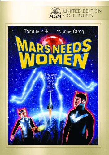 DVD : Mars Needs Women