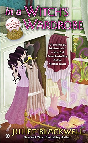 book cover of In a Witch\'s Wardrobe