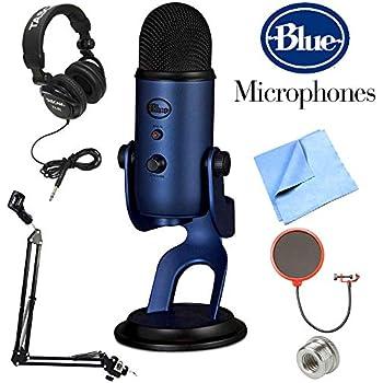 Usb Microphones Amazon : blue yeti usb microphone silver musical instruments ~ Russianpoet.info Haus und Dekorationen