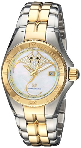 Technomarine Women's 'Cruise' Quartz Stainless Steel Casual Watch, Color Two Tone (Model: TM-115190)