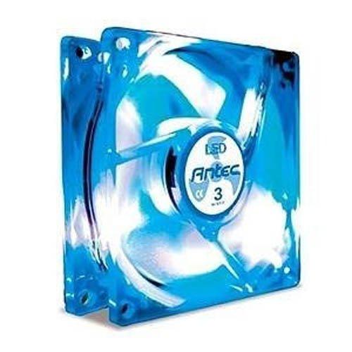 80mm blue led fan - 5