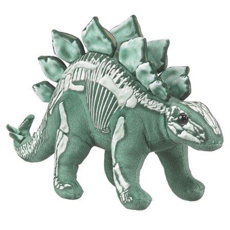 Stegosaurus Toy Plush Stuffed Dinosaur Animal Skelesaurs Fossil Skeleton