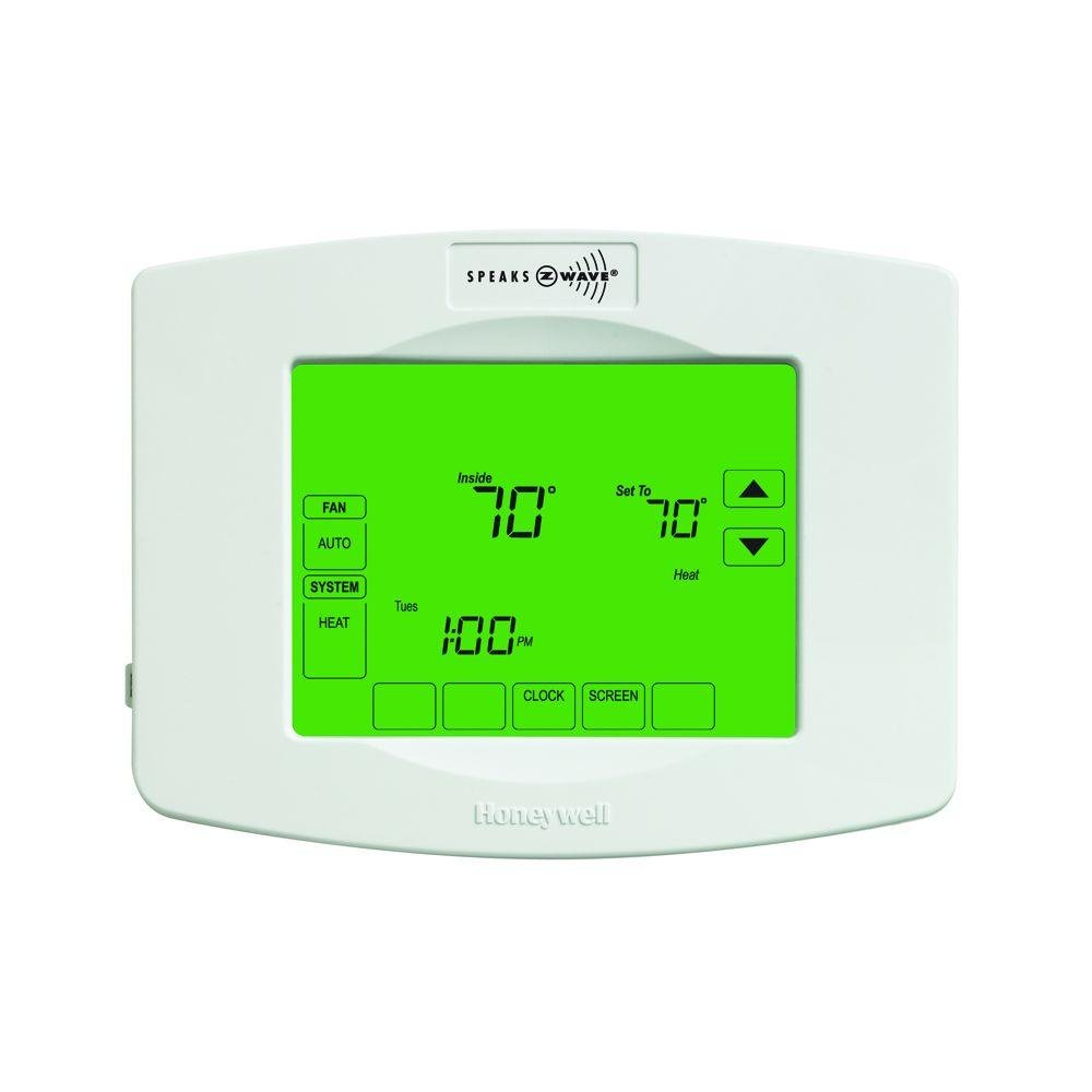 Honeywell Home RTH8580ZW1001 Zwave Enabled Programmable Thermostat by Honeywell