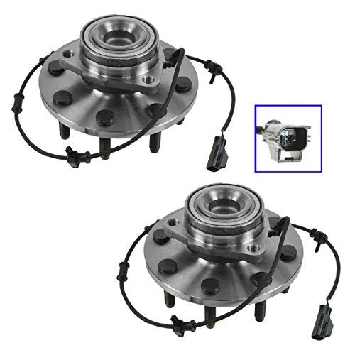 2500 Pickup Hub - Front Wheel Bearing Hub Assembly Pair Set for Dodge Ram Pickup 2500 3500 2WD