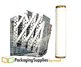 ( 1 Roll ) 20'' 10000' Knitted / Woven Stretch Netting Film