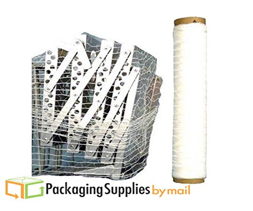 ( 1 Roll ) 20'' 10000' Knitted / Woven Stretch Netting Film by PackagingSuppliesByMail