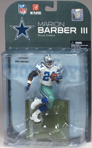 McFarlane Toys NFL Sports Picks Series 19 (2008 Wave 3) Action Figure Marion Barber (Dallas (Nfl 2008 Wave)