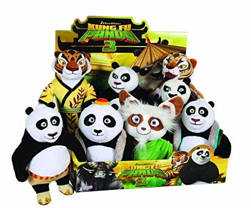 JOY TOY 055309 18 cm Kung Fu Panda 3 Master Shifu Assorted Plush Toy (Toy Kung Fu Panda Soft)