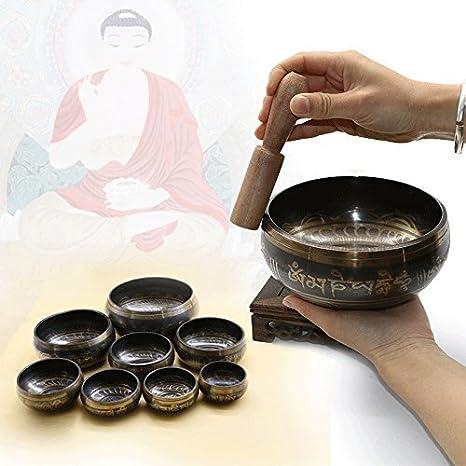 Amazon.com: katoot @ Yoga – Cuenco Tibetano tazón tibetano ...