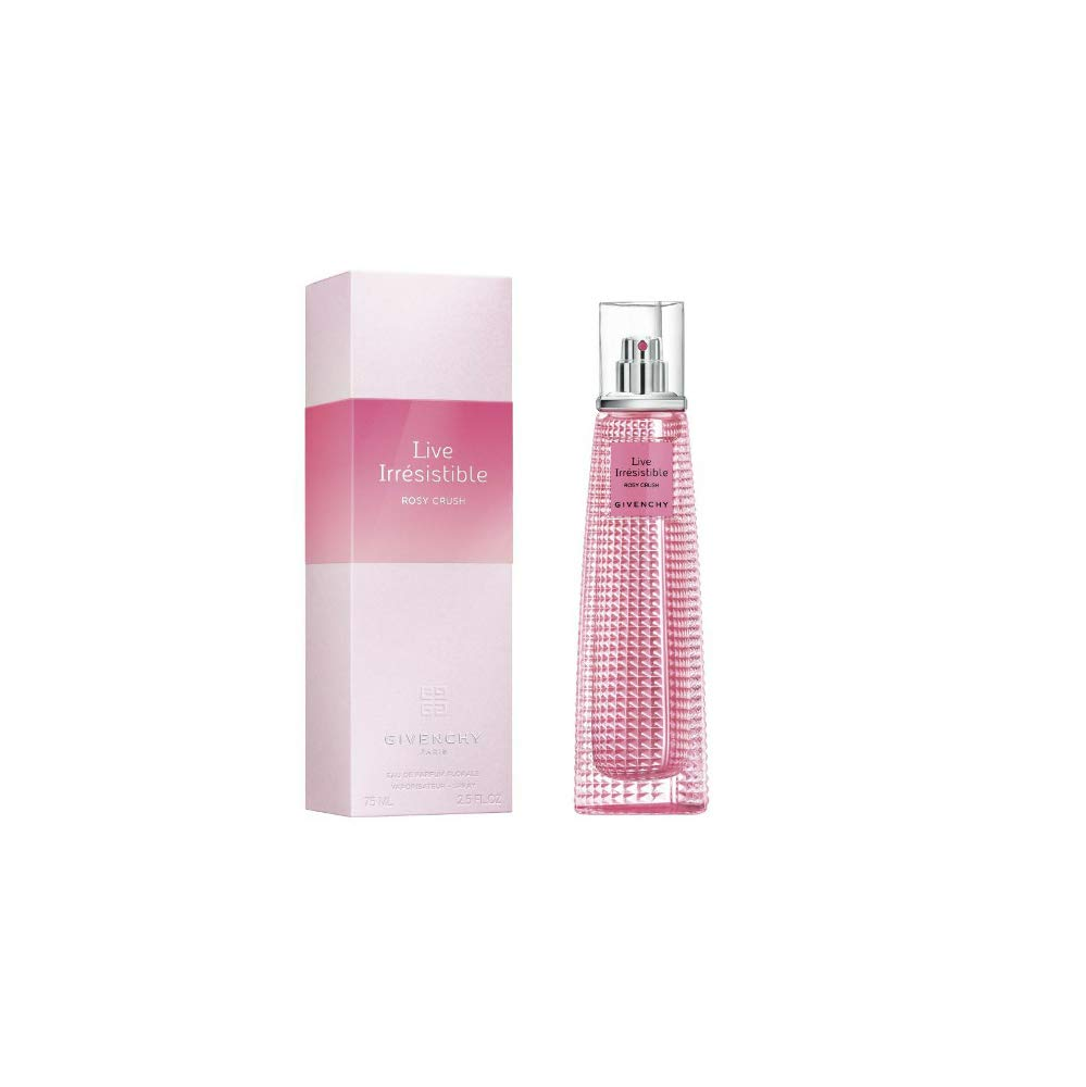 Givenchy 57835 Very Irresistible Live Rosy Crush Eau de Parfum, 75 ml