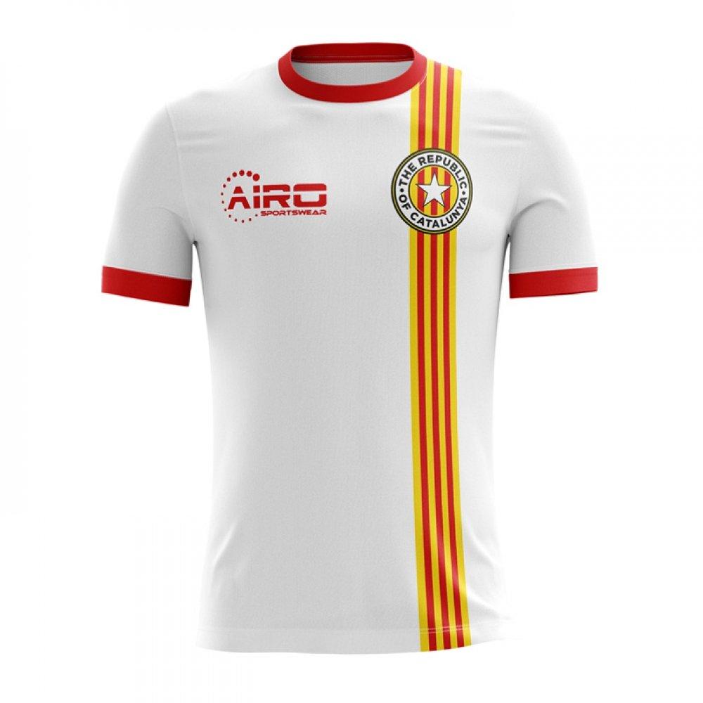 2017-18 Catalunya Pique Airo Away Football Soccer T-Shirt Trikot (Gerard Pique Catalunya 3) acd82b