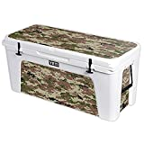 MightySkins Protective Vinyl Skin Decal for YETI Tundra 160 qt Cooler wrap Cover Sticker Skins Urban Camo