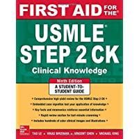 First Aid for the USMLE Step 2 CK (First Aid USMLE)