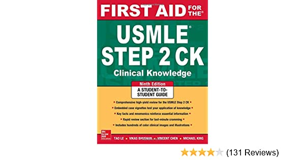 First Aid for the USMLE Step 2 CK, Ninth Edition (First Aid USMLE