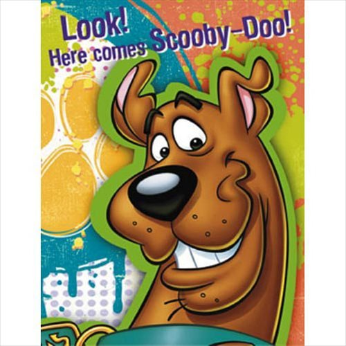 (Scooby-Doo Party Invitations)