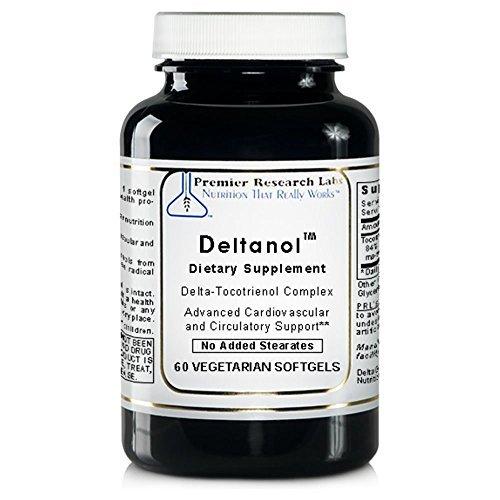 Deltanol TM, 240 Caps / 4 Bottles - Vitamin E Delta-Tocotrienol Complex by Premier Quantum Research Labs by Quantum / Premier Research