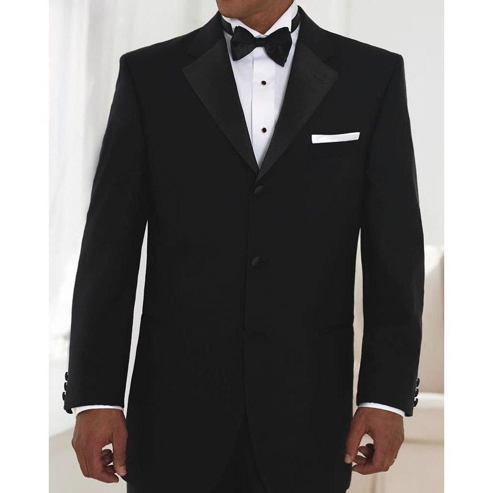 Neil Allyn One Button Notch Lapel Poly//Wool Tuxedo Jacket and Pants 41 Short Jacket 33-35 Adj Pant