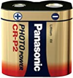 Panasonic Photo Lithium Battery CR-P2 - Pilas (Nickel-Oxyhydroxide (NiOx), 6 V, 1400 mAh, 34 mm, 17 mm, 45 mm)