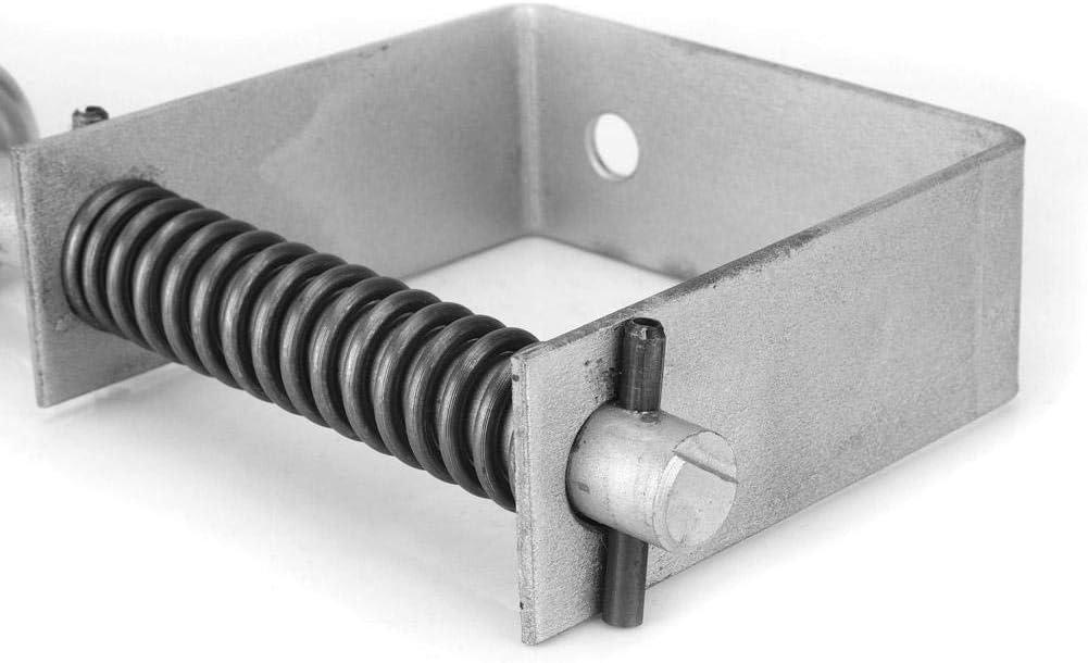 Hochleistungs-Universal-Torrolle mit 4 L/öchern und maximaler Tragf/ähigkeit von 220 Pfund Yosoo Health Gear Federbelastetes Rad Lassen Sie die Tore frei /öffnen und schlie/ßen federbelastete Rolle
