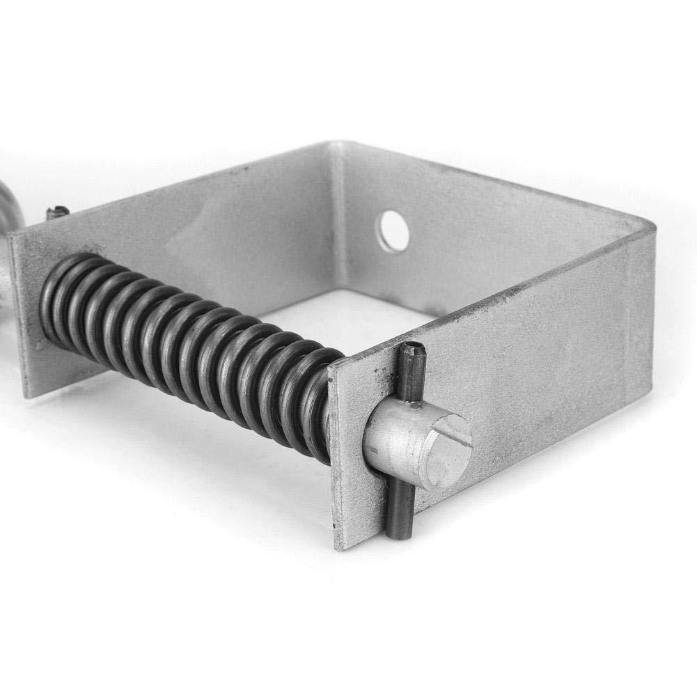 Ruota per cancello ruota girevole in gomma e metallo capacit/à di carico pesante da 220 libbre