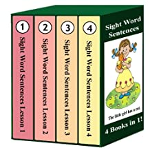 Sight Word Sentences - Lessons 1-4: 4 Books in 1!