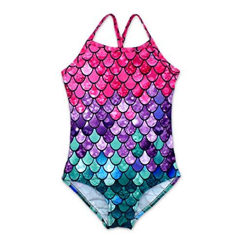 HONISEN Girls 2-Pieces Tankini Swimsuit Beach Swimwear