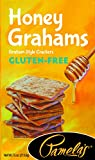Pamela's Products Gluten Free Graham Crackers, Honey, (Pack of 6)