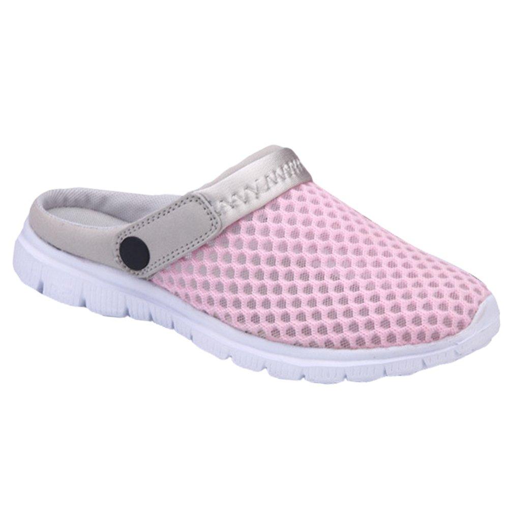 YOUJIA Unisexe Mesh Bout fermé Chaussons Casual Respirant Sabots Chaussures de Plage Sandales