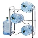 5 Gallon Water Bottle Glass Plastic Jug Rack Holder