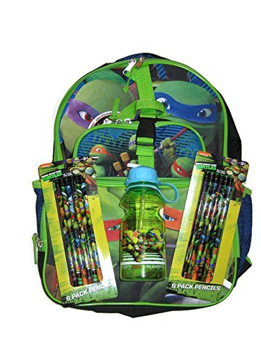 Teenage Mutant Ninja Turtles Backpack with Detachable Lun...