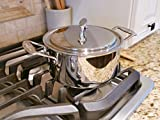 """USA Pan Cookware 5-Ply Stainless Steel 8"""" Chef"""