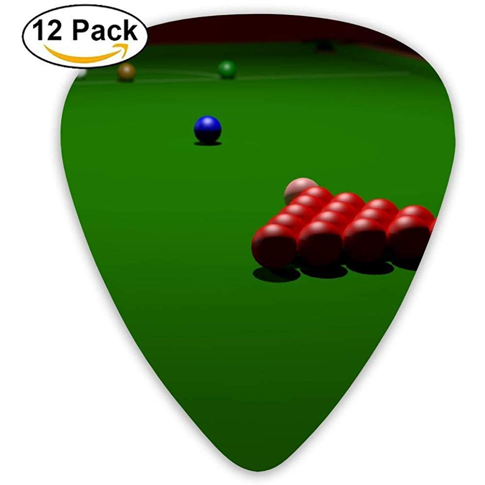 Dibujos animados Cool Snooker Billar Guitar Pick 12Pack: Amazon.es ...