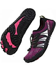 ziitop Water Shoes for Women Men Beach Shoes Swim Barefoot Shoes Pool Shoes for Women Aqua Shoes Quick Dry Slip-on Soft Surf River Water Park Yoga Shoes