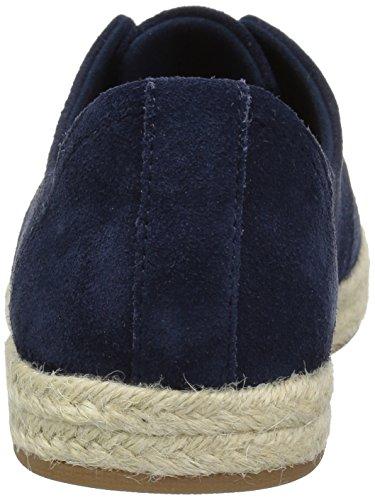 Clarks Women's Azella Jazlynn Sneaker Navy Suede 6awgK7y