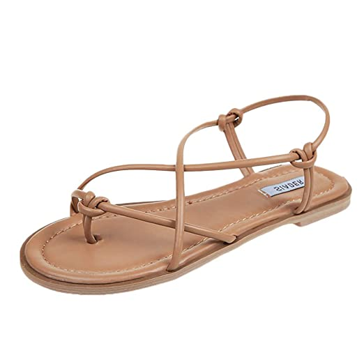 Lurryly Platform Sandals for Women,Open Toe Shoes Flat Sandals Beach Slippers Roman Shoes