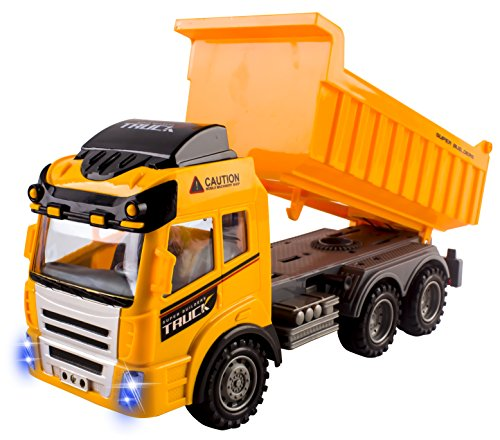 rc dump trucks with trailer - 4
