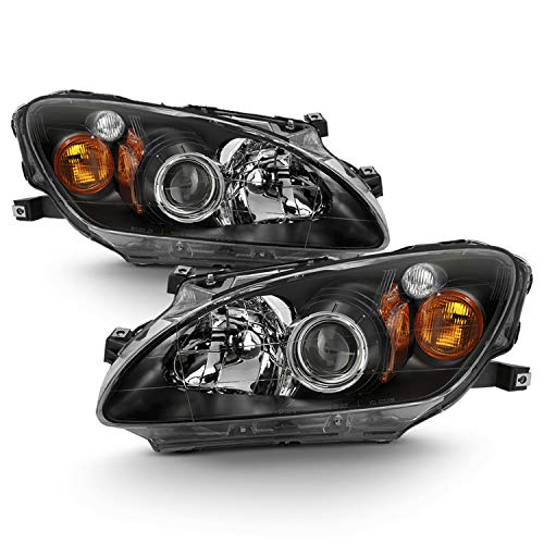 Fits 2000 2001 2002 2003 Honda S2000 Model Original Manufacturer Style AFS Amber Projector Headlights Assembly Pair