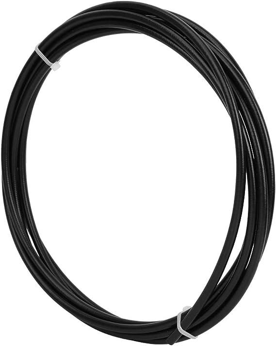 SolUptanisu V/élo Tube De Frein Tube 2mm 3meters Nylon Tress/é V/élo De Montagne Hydraulique Tuyau De Frein pour V/élo Remplacement Accessoire 5mm