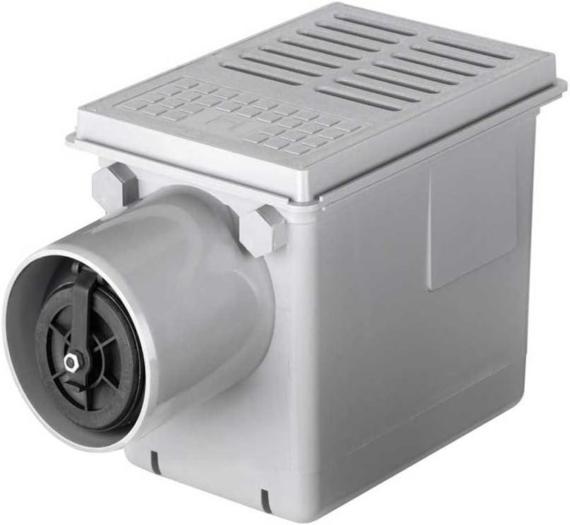 Rug-self Keller de desagüe con triple-válvula de agua estancada DN 110; 316750: Amazon.es: Bricolaje y herramientas