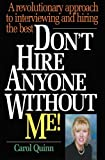 * The Motivation-Based Interviewing 'How-To' Book: Today's employers know that savvy job-seekers are capable of OscarTM winning performances during interviews. But how can they separate the real performers from the impostors? Don't Hire Anyon...