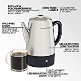 HomeCraft HCPC10SS 10-Cup Stainless Steel Coffee