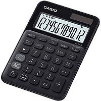Casio Colorful 12digits Ms-20UC-BK Black Mini Desk Calculator