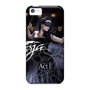 Shockproof Hard Cell-phone Cases For Iphone 5c (NhR10860KiDn) Provide Private Custom Lifelike Beseech Band Image