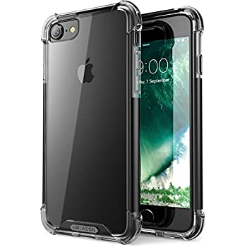 iPhone 7 Case, iPhone 8 Case, i-Blason Shockproof [Impact Resistant][Shock Absorbing] Case for Apple iPhone 7/Apple iPhone 8 (Black)