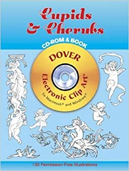 cupids cherubs cd rom and book dover electronic clip art