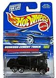 -#1011 Oshkosh Cement Truck Collectible Collector Car Mattel Hot Wheels